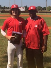 North Fort Myers senior Quinn Bourque was named pitcher