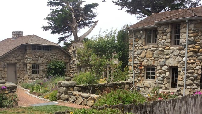 The poet Robinson Jeffers built Tor House by hand on the Carmel, Calif., coast for his wife Una.