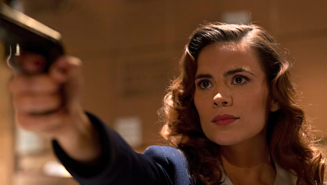 """Hayley Atwell as Peggy Carter in a scene from the motion picture short """"Agent Carter."""" CREDIT: Katrin Marchinowski, Marvel [Via MerlinFTP Drop]"""