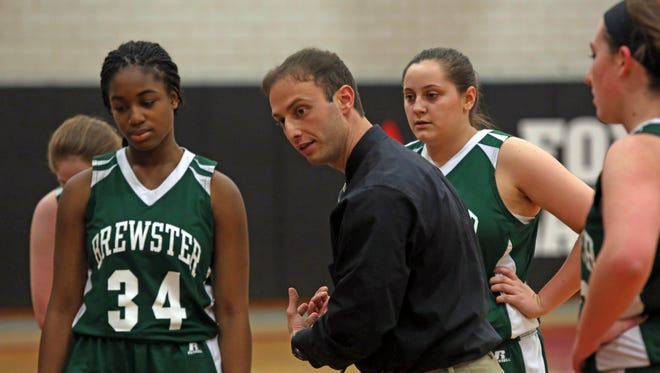 Fox Lane defeated Brewster 62-39 during girls basketball game at Fox Lane High School in Bedford Jan. 16, 2015.