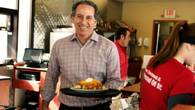 Roger David, the new CEO of Gold Star Chili.