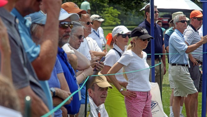 Day two of the KPMG Women's PGA Championship at Westchester Country Club in Harrison June 12, 2015.