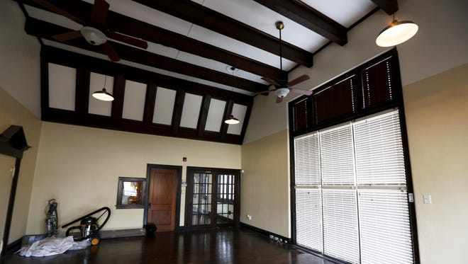This room in the Tudor house that fronts the warehouse is part of Hobbs' Pet Wants business.