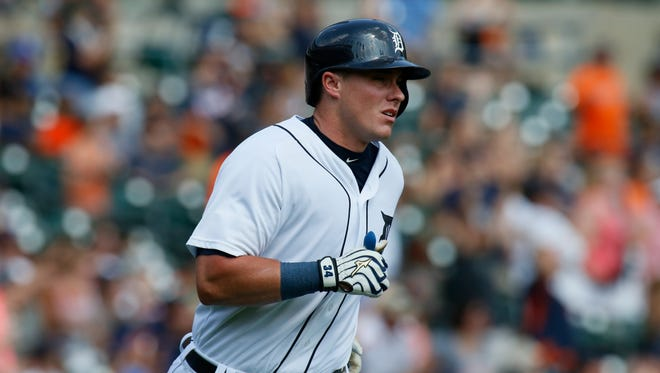 Detroit Tigers' James McCann.