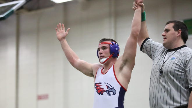 Wakulla senior Josh Strickland captured the 182-pound victory in the Tri-County Invitational at Lincoln, defeating the Trojans' Isaac Gutierrez.