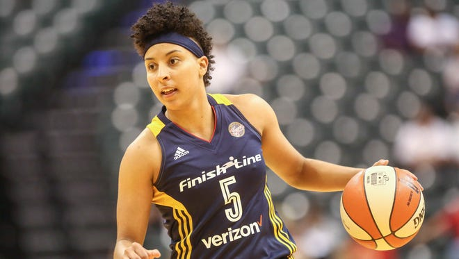 The Fever traded Layshia Clarendon to Atlanta on Tuesday.