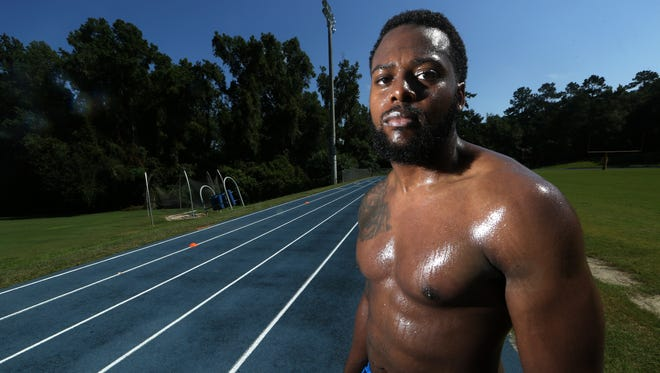 Jajuan Harley, 25, who played football at Rickards High School and later was a member of the Florida State Seminoles, is hoping to gain the interest of an NFL team and make a return to the sport.
