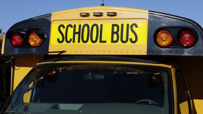 Wisconsin school buses will begin using an eight-light system under new safety rules that went into effect in May.  The new amber lights warn motorists that the bus is preparing to stop.