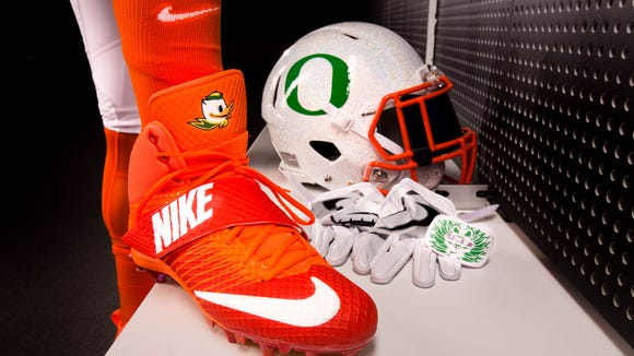 A look at what Oregon's football team will be wearing Saturday against Colorado.
