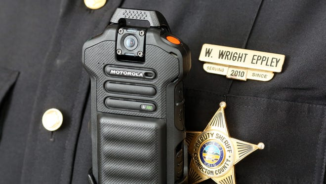 The Coshocton County Sheriff's Office has purchased 27 body cameras that are worn on the chest of deputies' uniforms.