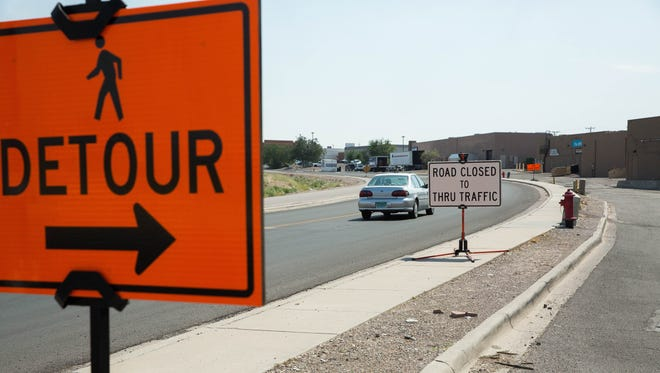 Entrada del Sol to be closed for utility work Dec. 27