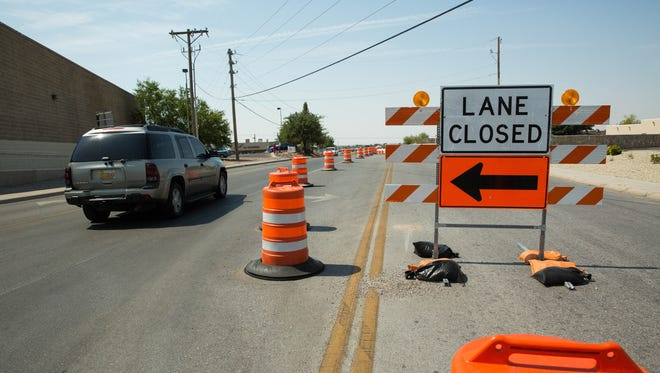 Road closures planned next week.