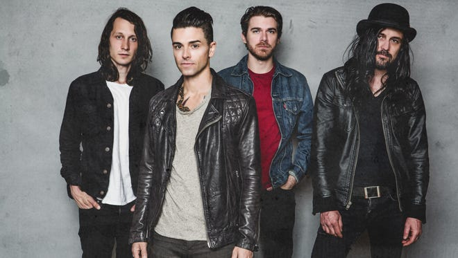 Dashboard Confessional will perform Saturday night at Tag's Summer Stage in Big Flats.