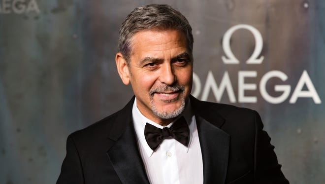 George Clooney in London on April 26, 2017.
