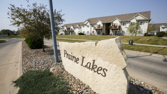 Statewide local governments have lost $14.9 million in property tax revenue due to a new tax classification for multi-family units created by the 2013 tax reform. The Iowa League of Cities predicts the impact will reach at least $31 million statewide by the time the change is fully implemented in 2022. Pictured are the Prairie Lakes apartments in Ankeny on Wednesday, Sept. 13, 2017.