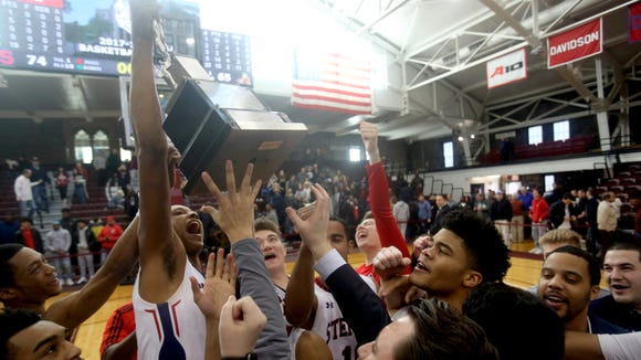 Stepinac celebrates after defeating Christ the King