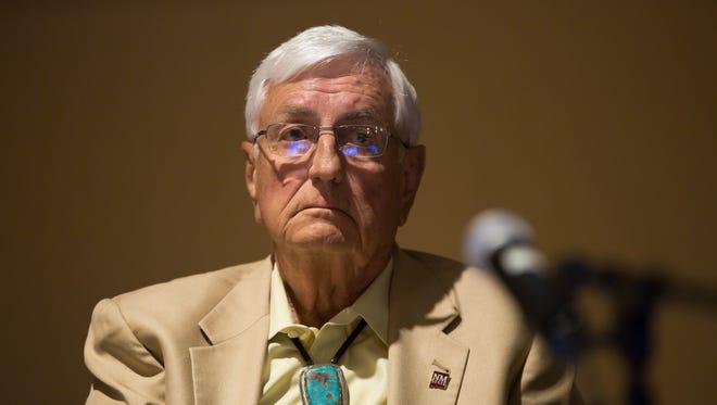 Retired NMSU Chancellor Garrey Carruthers.