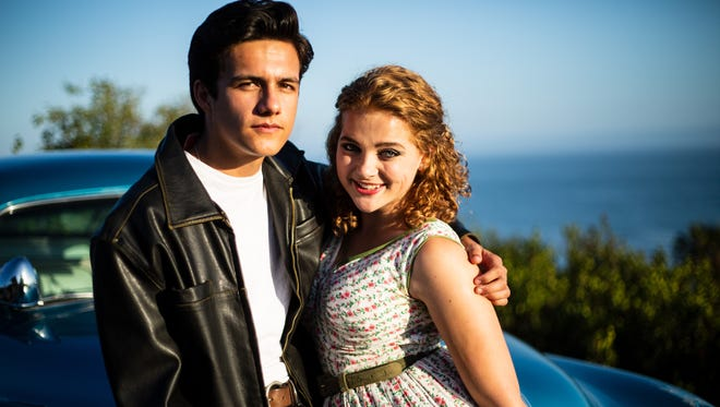 """Ben Zevallos and Tessa Miller star in The Theatre Group at SBCC's production of """"Grease."""""""