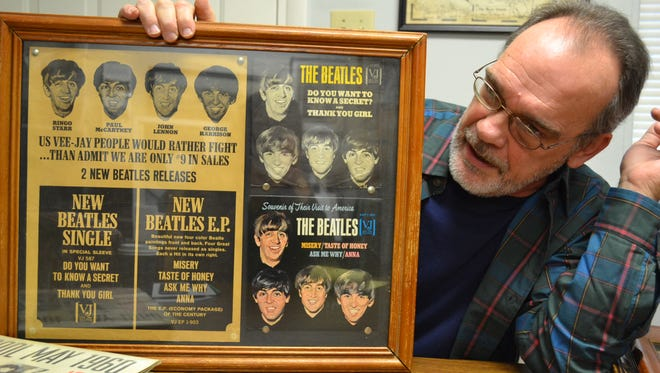 Chuck Grindstaff, an expert Beatles historian, talks about one of the pieces in his extensive personal collection.
