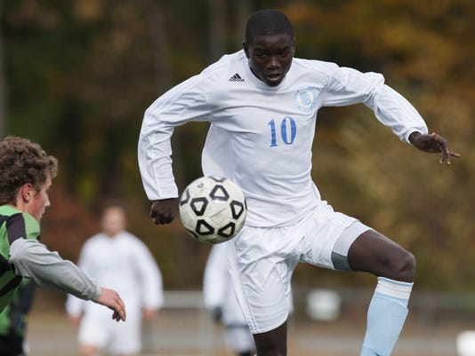Colchester vs. South Burlington Boys Soccer 10/24/15