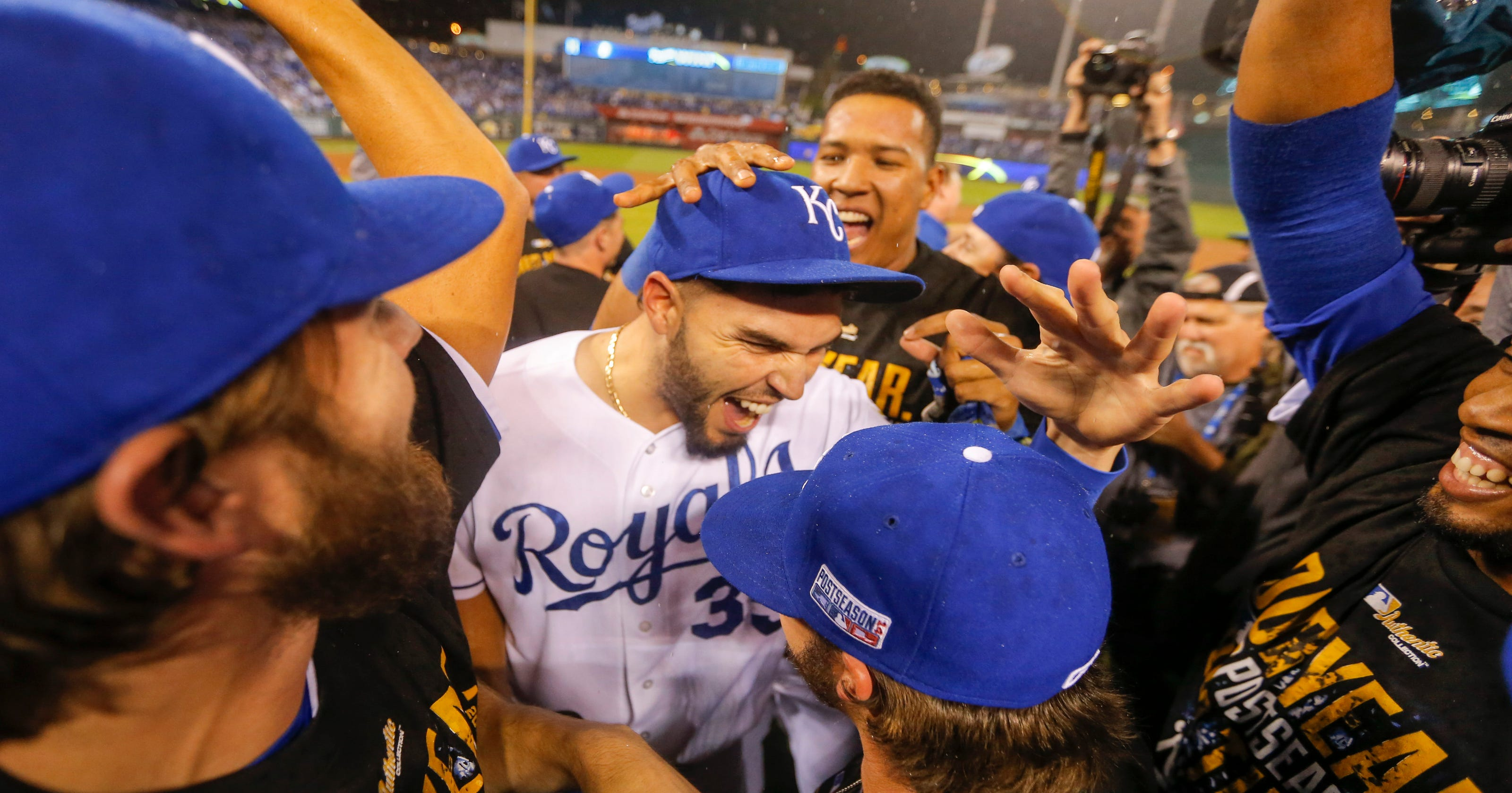 Royals Sweep Past Angels Into ALCS Against Os