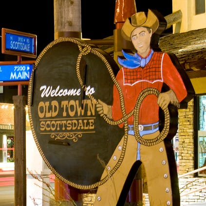 Old Town Scottsdale sign.