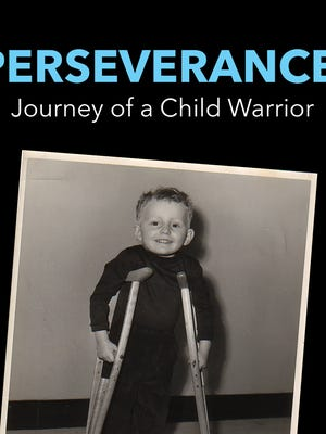The cover of Rich Willett's book, about his childhood with polio, is available on Amazon.com. He was 3 years old at the time of the photo.
