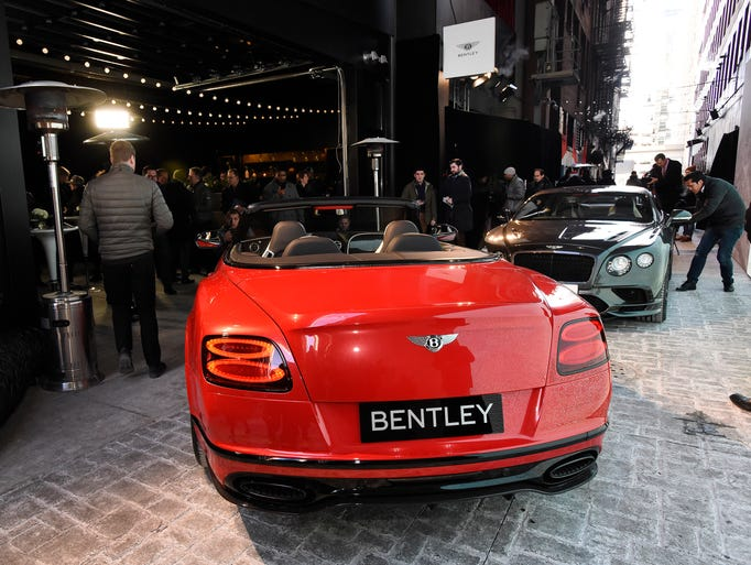 The new Bentley Continental Supersports Convertible,