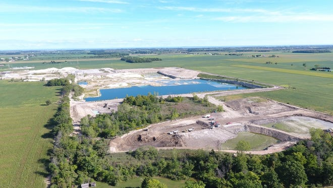A group of Benton Township residents are upset about a proposed plan by Rocky Ridge Development, LLC to drain the former StoneCo quarry and dispose of both lime sludge from the Toledo Collins water treatment plant and Maumee River dredgings.