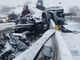 The Pennsylvania Turnpike was  closed for several hours