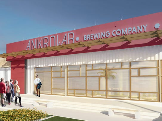 Ankrolab Brewing Co. is planned next to San Julian