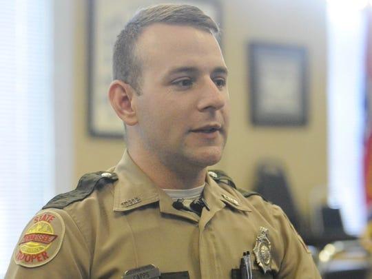 Tennessee Highway Patrol Trooper John Capps
