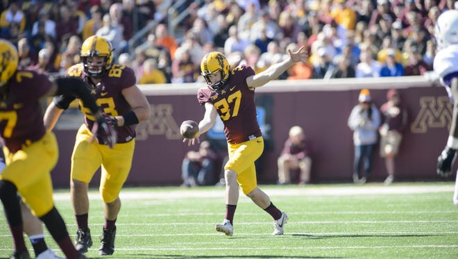 University of Minnesota redshirt senior Peter Mortell was named Big Ten punter of the year last season. The Green Bay Notre Dame alum was named to the Ray Guy Award preseason watch list last week.