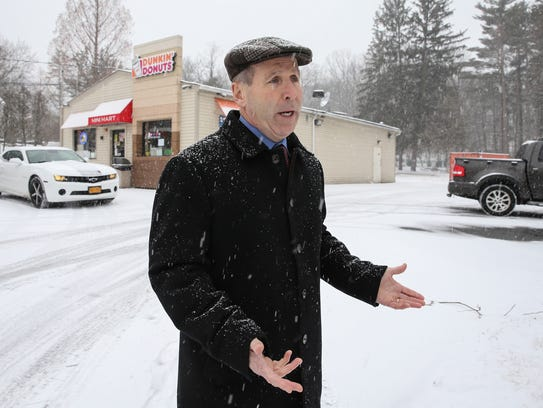Stony Point Supervisor Jim Monaghan photographed outside