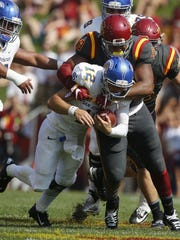 Michael Zamora/The Register Iowa State's JaQuan Bailey