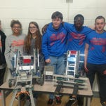 Millville High club competes in its first robotics competition