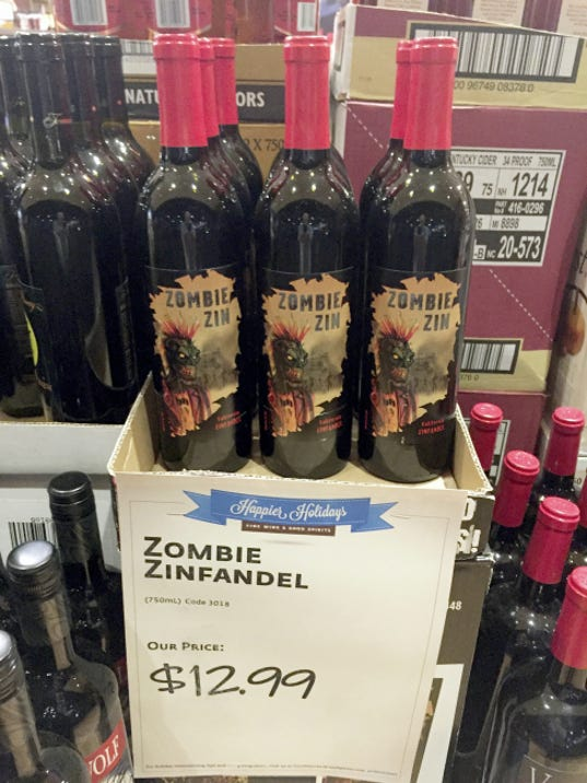 Quite a few Halloween wines are out this fall. Don't get seduced by spirited labels. Be sure to read reviews and do your research before you buy bottles for your Halloween party.