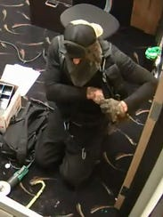 Police believe the suspect in the July 18 robbery of