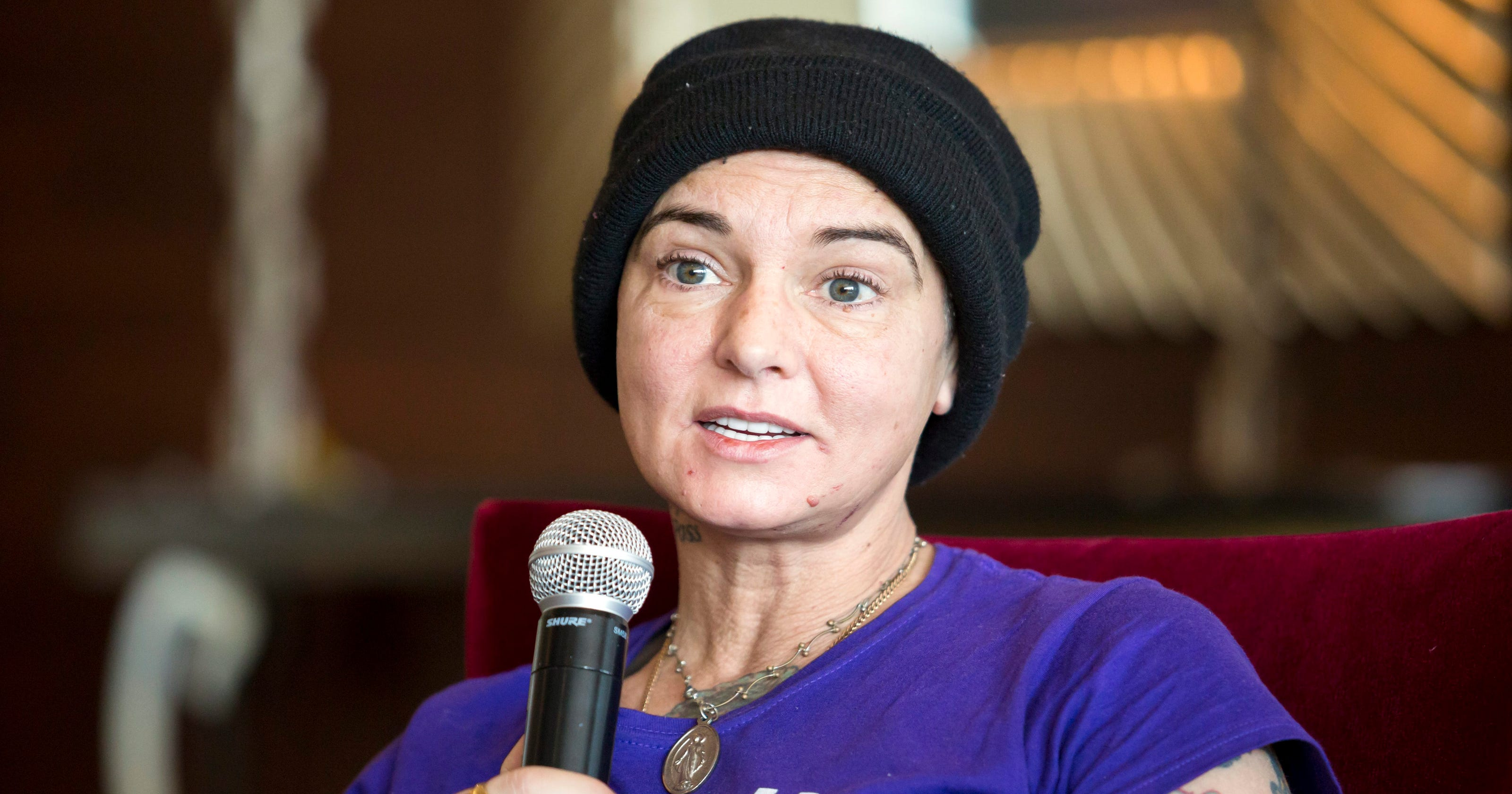 Sinead Oconnor Resurfaces On Facebook