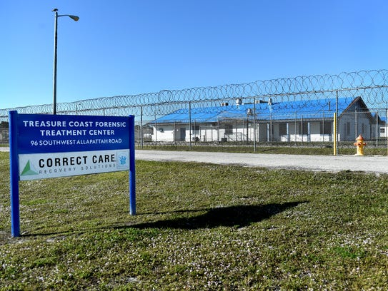 The Treasure Coast Forensic Treatment Center at 96