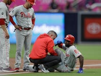 Phillies outfielder McCutchen has torn ACL, out for season