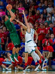 JU junior swingman Jace Hogan poured in a game-high