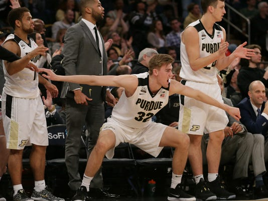 NCAA Basketball: Big Ten Conference Tournament-Purdue vs Penn State
