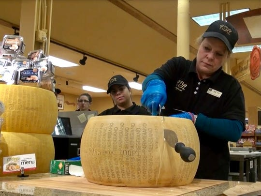 Beth Higgins, cheese manager at the Holt Road Wegmans