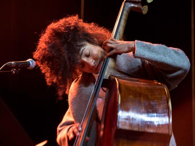 Four time Grammy award winning Jazz bassist Esperanza