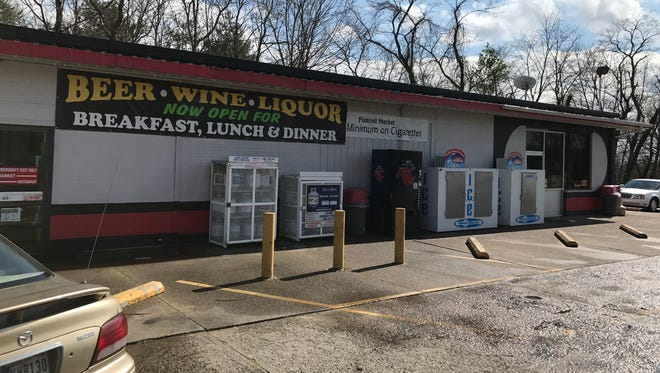 The Fishtail Market convenience store, located at 11115 Broadway Ave. just west of the University of Southern Indiana, sells cold beer, hard liquor and wine.