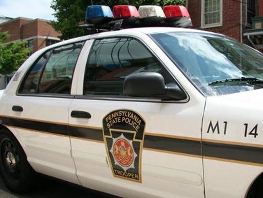 ELM 0113 Pennsylvania state police car