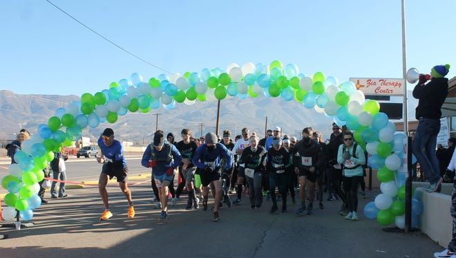 An estimated 150 participants ran in the final Zach Trak on Saturday morning. The race proceeds benefit Zia Therapy's early childhood intervention program and is named in honor of Zachary Barnes, a local child with Cerebral Palsy who passed away when he was six years old.
