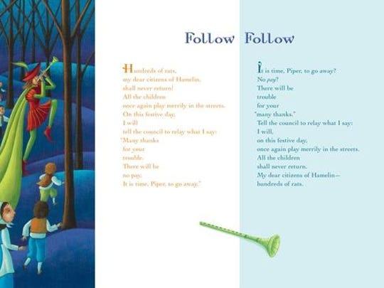 Inside 'Follow/Follow — A Book of Reverso Poems' by Marilyn Singer