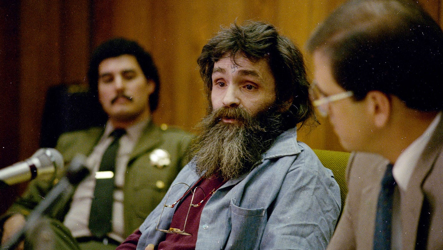 Charles Manson, one of nation's most infamous mass killers, dead at 83